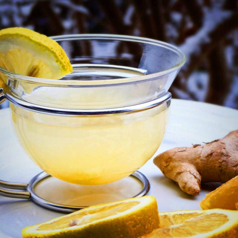 Zitronen Ingwer Tee Fb