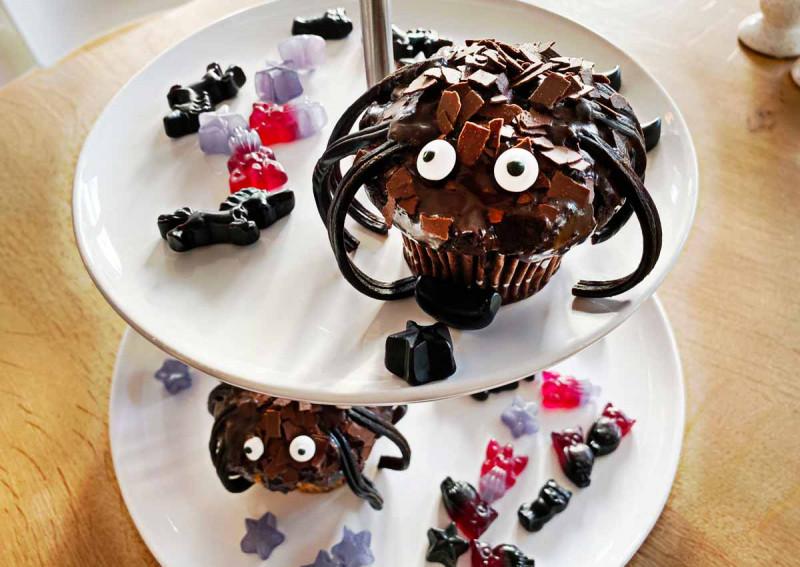 Spider Cupcakes Bremer Gew rzhandel