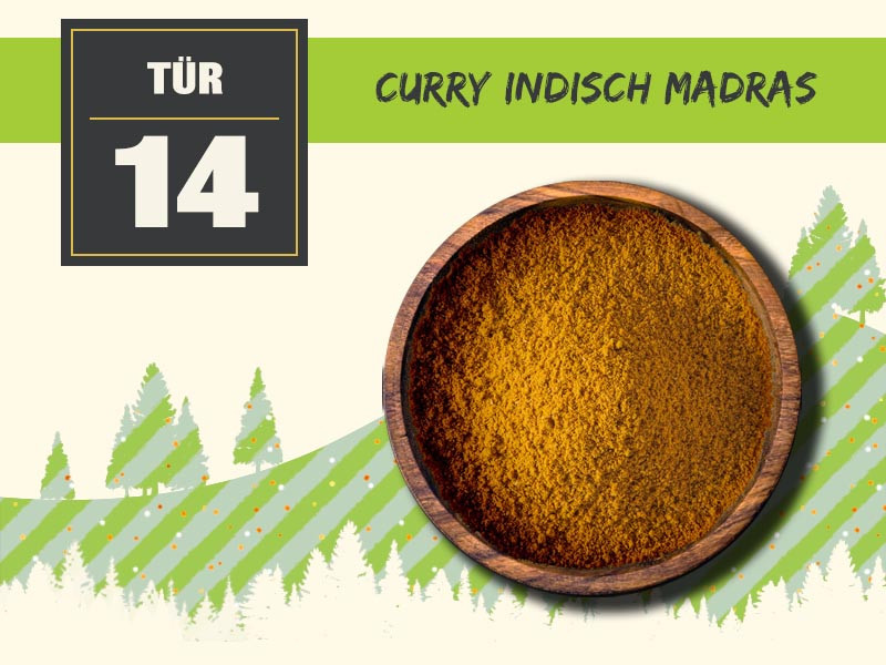 14 curry indisch madras
