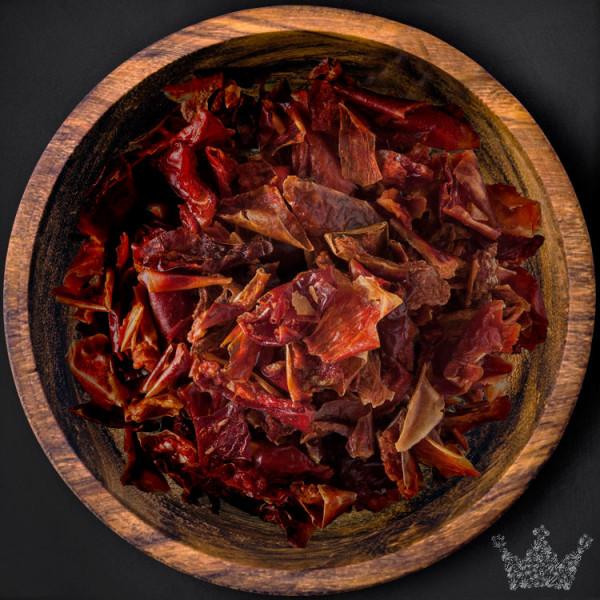 Paprikaflocken rot, geschnitten